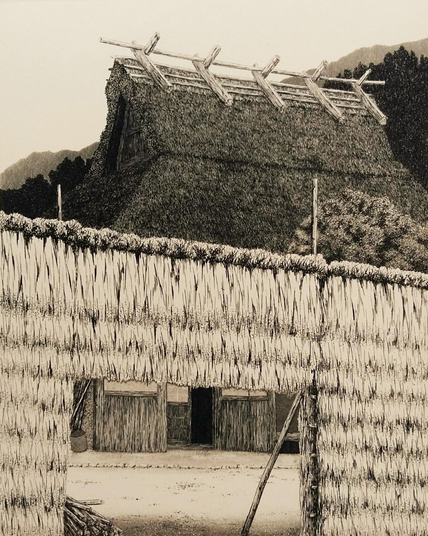 Tanaka Ryohei TR 308 Hanase Autumn 1. 21 x 17 cm. 1982. Ed. 100. (2)